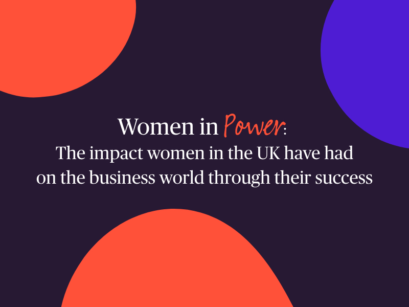 Women in power header image