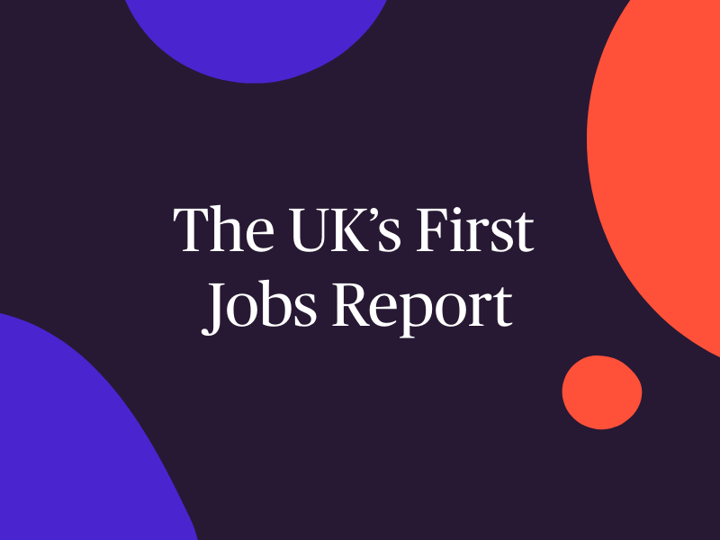 The UK's First Jobs Report Header Imager