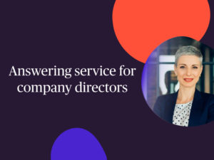 answering service for directors
