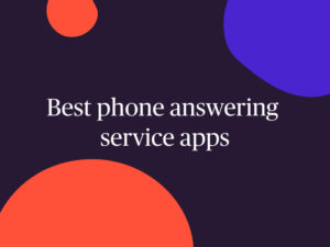 best answering service apps